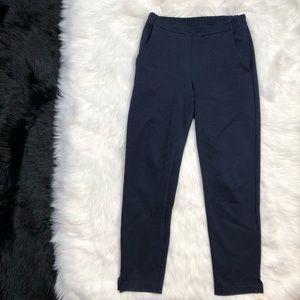 Falconeri Pants - Falconeri Italian Designer Navy Blue Slim Pants